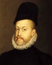 Philip II of Spain by Sofonisba Anguissola