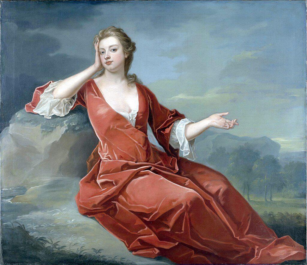 Sarah, Duchess of Marlborough,  by Jervas ca.1700