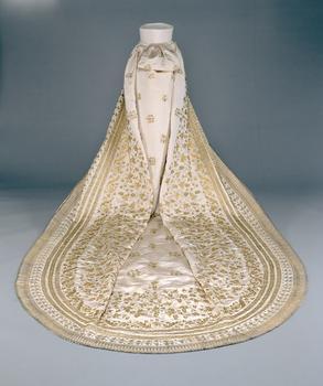 Train of Sisi's wedding dress © Kunsthistorisches Museum Vienna