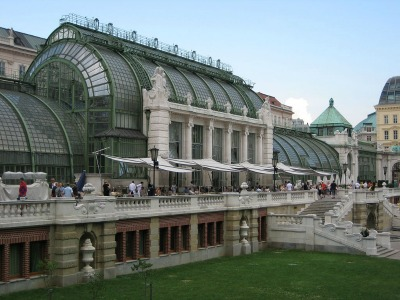 Palm House, designed by Friedrich Ohmann