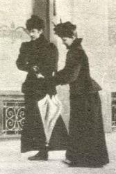 Last known photograph taken of Empress Elisabeth 1898