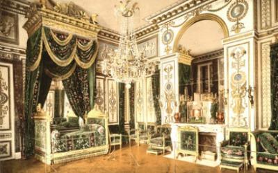 Bedroom of Napoleon I, Fontainebleau Palace