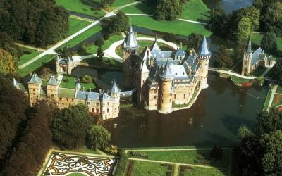 kasteel de Haar (De haar Castle) in Haarzuilen