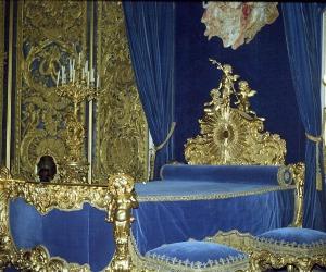 Linderhof Bedchamber of King Ludwig II