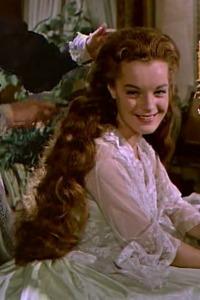 Romy Schneider as Sissi in the Sissi Trilogy by Ernst Marischka - 1955