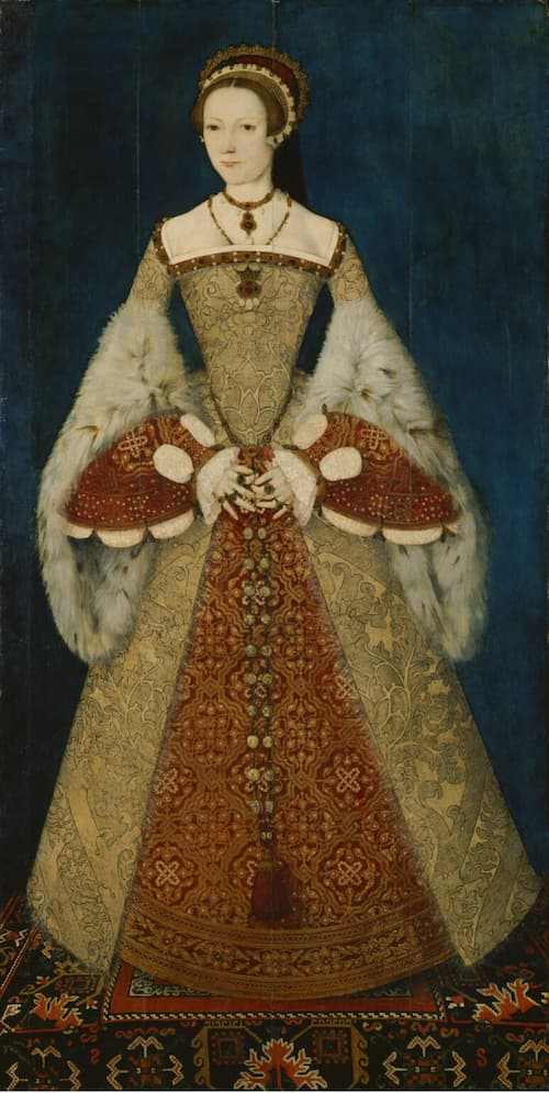 Catherine Parr, the sixth wife of Henry VIII, the one that survived! Portrait by Master John