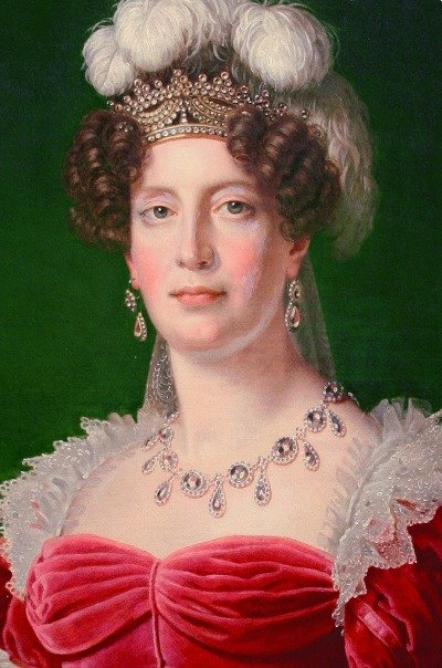 Marie Thérèse, The Duchess of Angouleme in 1827. Painted by Alexandre-François Caminade