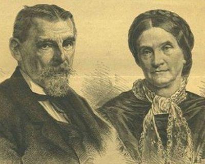 Maximillian, Duke in Bavaria and Princess Ludovika of Bavaria, parents of Sisi