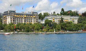 Hotel Beau Rivage in Geneva. Empress Elsabeth dies here September 10th, 1898