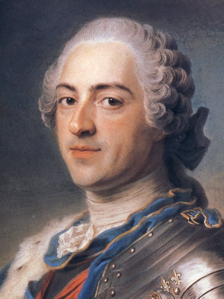 King Louis XV in 1748, by Maurice-Quentin de La Tour