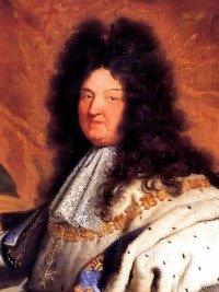 King Louis XIV, the Sun King