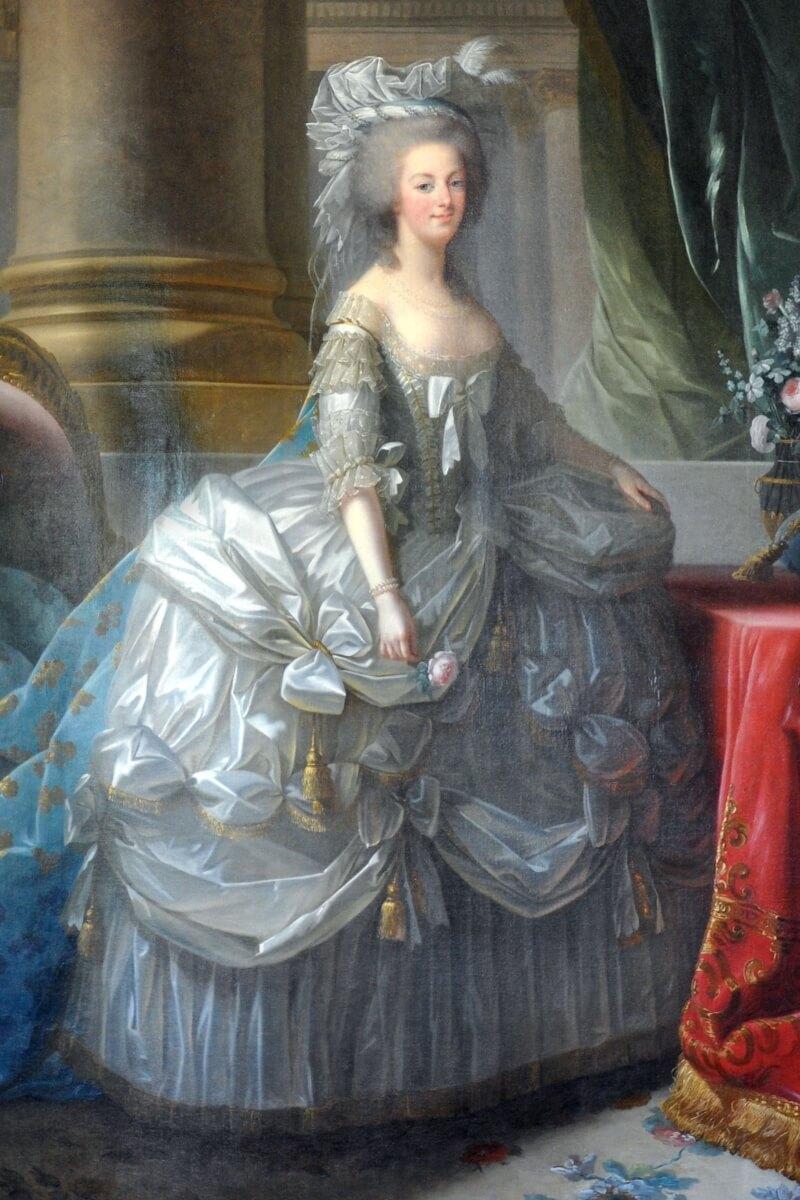 Marie Antoinette 1783, painting by Élisabeth Vigée-Lebrun