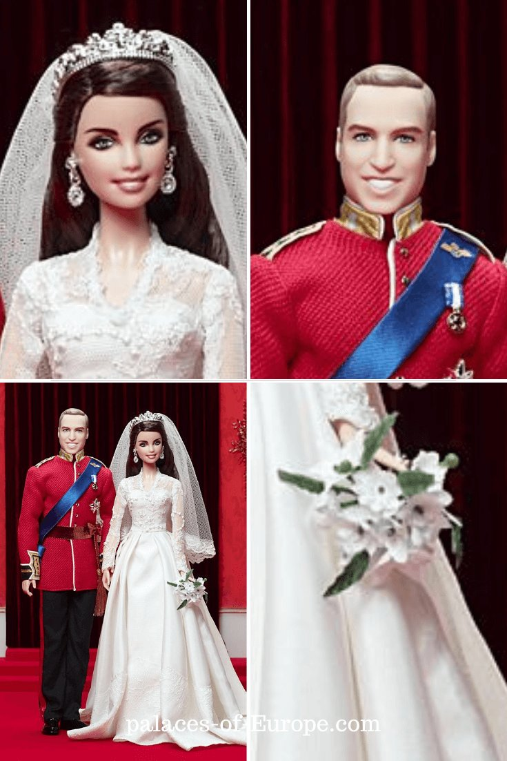 Catherine (Kate) Middleton and Prince William Barbie and Ken