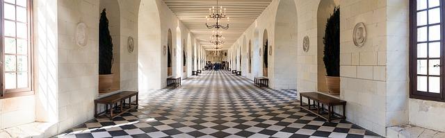 Chateau de Chenonceau, grand gallery
