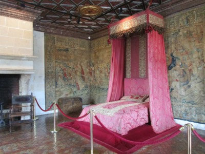 Chenonceau- Bedroom of the five Queens