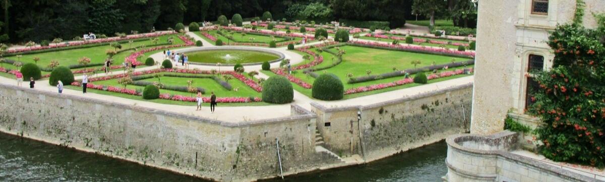 Château de Chenonceau, garden of Catherine de Medici