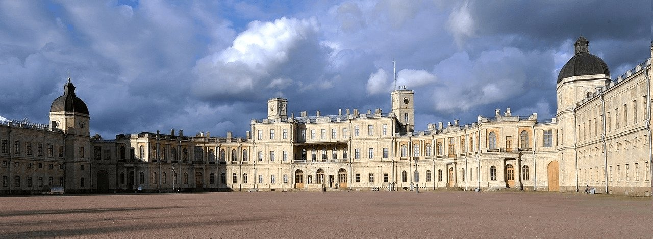 Gatchina Palace was built for Count Grigori Grigoryevich Orlov. He was the favourite of Catherine the Great who helped her during the coup that overthrew Peter III of Russia.