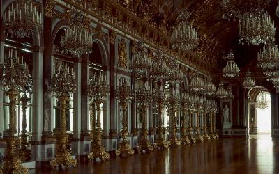 Great hall of mirrors, Schloss Herrenchiemsee