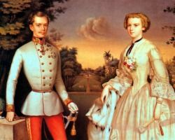 Emperor Franz Joseph and Empress Sisi